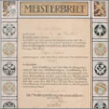 Historienbild Meisterbrief
