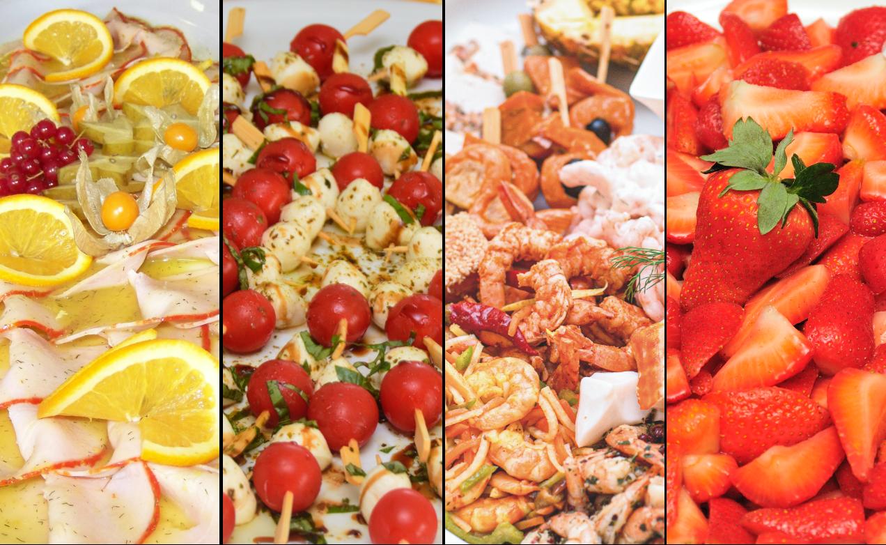 Bild mit verschiedenen Speisen